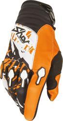 SHOT DEVO LOAD KID Handschuh orange/sw./weiss 8/9 Jahre