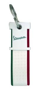 Bild von VESPA Schlüsselanhänger Italia weiss/grün/rot