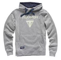 Genuine Triumph Motorcycle Men's Jarrow Basic Hoodie