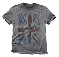 triumph Tee Grey Union Jack