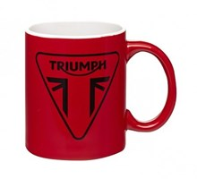Triumph Red Logo Mug