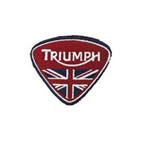 Triumph Union Flag Triangle Patch