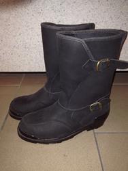 Prexport Leder Stiefel Gr. 44