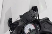 Navi-Halter im Cockpit. Schwarz. Kawasaki Versys 650 (15-).