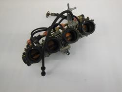 Einspritzleiste komplett mit Drosselklappen Honda CBR 600RR PC37 Bj: 2003-2007