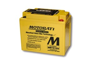 Bild von Motobatt Batterie YTX12-BS Triumph 1050 Speed Triple, Typ 515NJ, 2005 2007