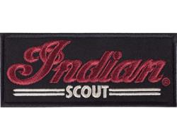 INDIAN Patch Scout schwarz
