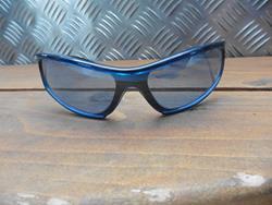 UVEX Sonnenbrille silber/blau