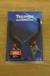 Triumph CNC gefräste Hebel li+re kurz- standard