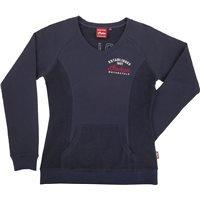 INDIAN LADY Pullover blau