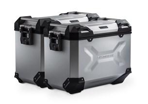 Bild von TRAX ADV Alukoffer-System. Silbern. 45/45 l. Honda NC700 S/X, NC750 S/X.