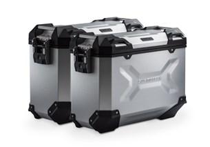 Bild von TRAX ADV Alukoffer-System. Silbern. 37/37 l. Honda XL 700 V Transalp (07-12).