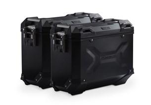 Bild von TRAX ADV Alukoffer-System. Schwarz. 37/37 l. KTM 950 Adv. / 990 Adv. (03-).