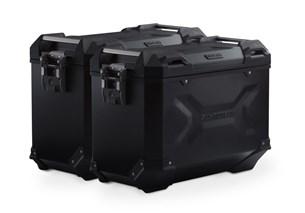 Bild von TRAX ADV Alukoffer-System. Schwarz. 45/45 l. Suzuki DL1000/Kawasaki KLV1000.