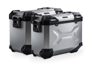 Bild von TRAX ADV Alukoffer-System. Silbern. 37/45 l. BMW R 1100 / 1150 GS.