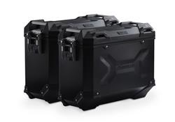 TRAX ADV Alukoffer-System. Schwarz. 37/37 l. Multistrada 1200 / S (10-14).
