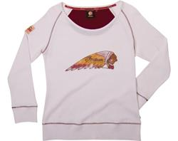 AKTION: INDIAN Lady Warbonnet Langarm Shirt
