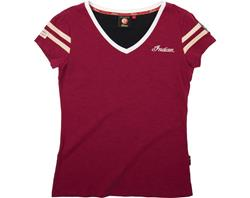 AKTION: INDIAN Lady Shirt Heritage V-Neck