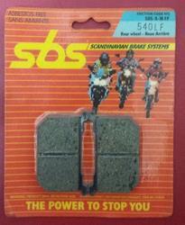 Bremsbelag SBS 540LF