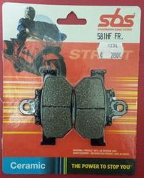 Bremsbelag SBS 570-581 Ceramic
