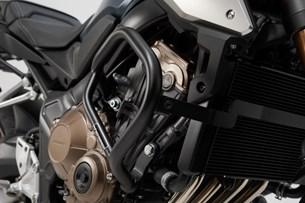 Bild von Sturzbügel. Schwarz. Honda CB650F (14-) / CB650R (19-).