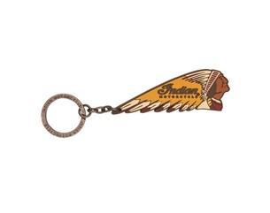 Bild von INDIAN Gummi Schlüsselanhänger Headdress