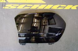 Seitenkoffer-Deckel GL 1800 -2011 schwarz rechts
