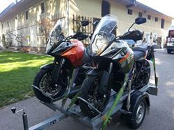 Leihanhänger / Mietanhänger für 2 bikes