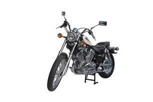 Bild von Hauptständer. Schwarz. Yamaha XV 535 Virago (87-98).
