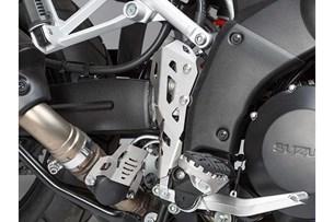 Bild von Bremspumpen-Schutz. Silbern. Suzuki V-Strom 1000 (14-).