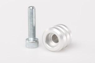 Bild von Schalthebel-Verlängerung. Verlängerung um 15 mm. Silbern. Universal.