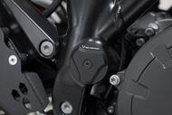 SW-MOTECH Rahmenkappen-Set. Schwarz. KTM 1050/1090/1190 Adv,1290 SAdv.