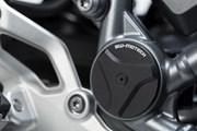 Rahmenkappen-Set. Schwarz. BMW R 1200 R/RS (15-), R 1250 R (18-).