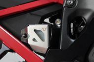 SW-MOTECH Bremsflüssigkeitsbehälter-Schutz. Silbern. Suz DL1000 V-Strom (14-)/Honda CRF1000L.