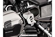 SW-MOTECH Potentiometerschutz. Silbern. BMW R 1200 GS (08-12) / R nineT (14-).