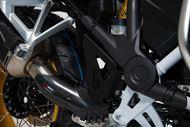SW-MOTECH Bremspumpen-Schutz Set. Schwarz. BMW R1200GS, R1250GS.