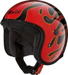 CABERG FREERIDE FLAME schwarz/rot XS