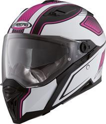CABERG STUNT BLADE matt schwarz/pink/weiss M