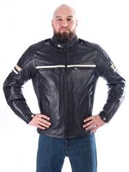 IXON MOTORS Lederjacke braun 3XL