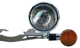 Bild von LEDRIE Spotlight Halter CSPO-1002 für Yamaha XVS650 Classic chrom