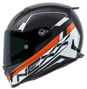 NEXX X.R2 FUEL Integralhelm schwarz/orange S