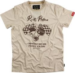 RUSTY PISTONS DEXTER T-Shirt beige XL