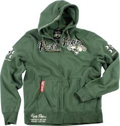 RUSTY PISTONS GRANT Sweatshirt grün 3XL