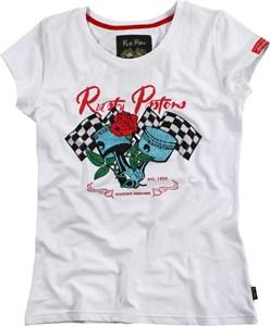 Bild von RUSTY PISTONS LAVINIA Damen T-Shirt weiss S
