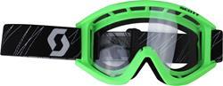 SCOTT RECOIL Brille mit klar/kratzf./antifog Glas grün