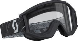 SCOTT RECOIL Brille mit klar/kratzf./antifog Glas schwarz
