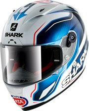 SHARK RACE-R PRO GUINTOLI REPLICA weiss/blau XL