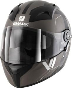 Bild von SHARK VISION-R 2 CARTNEY Integralhelm schwarz/chrom S