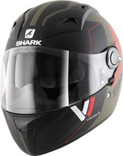 SHARK VISION-R 2 CARTNEY MAT Integralhelm matt grün/schwarz L