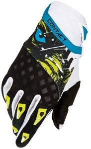 Bild von SHOT FREEGUN DEVO BEAST KID Handschuhe gelb/blau/schwarz 8/9 Jahre